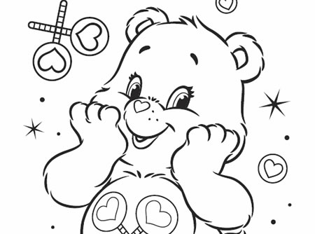 Goldie And Bear Free Coloring Pages